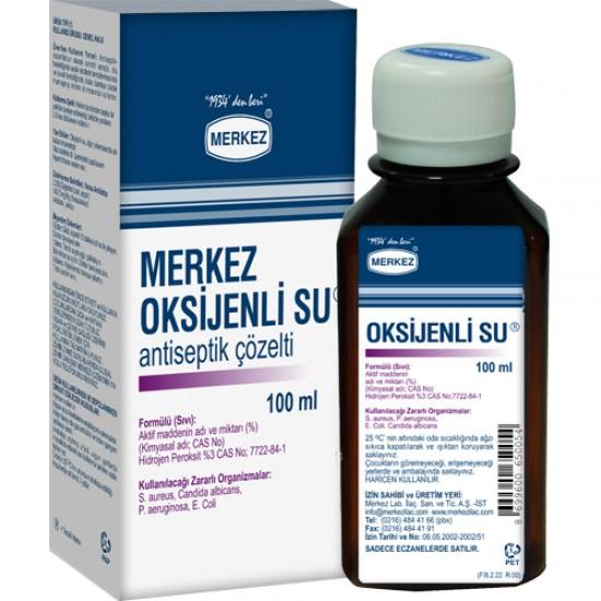 OKSİJENLİ SU - MERKEZ 100 ML